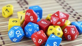 Corta para o rpg, os jogos de mesa, jogos ou Dungeon tabletop e dragões fotografia de stock royalty free