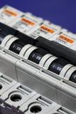 Cortacircuítos de la electricidad fotos de archivo libres de regalías