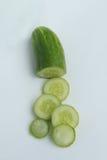 Cortado?? cucumber2 Foto de Stock Royalty Free