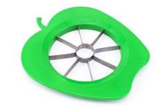 Cortador de la cortadora de Apple Foto de archivo