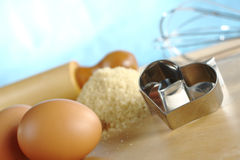 Cortador de la galleta Foto de archivo libre de regalías