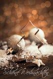 Cortador de la galleta con el bokeh Foto de archivo libre de regalías