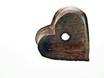 Cortador de la galleta del corazón de la vendimia fotos de archivo