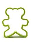 Cortador de la galleta del oso Fotografía de archivo