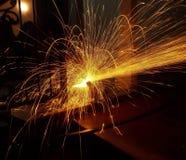 Cortador del hierro Fotos de archivo