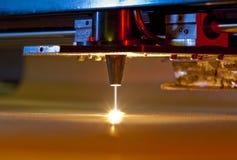 Cortador del laser Fotografía de archivo libre de regalías