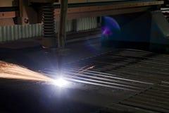 Cortador do metal Imagem de Stock