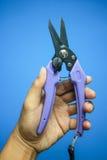 Cortador para cortar el cable o el alambre Imagen de archivo