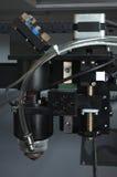 Cortadora del laser Imagenes de archivo
