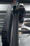 Cortadora del laser Imágenes de archivo libres de regalías
