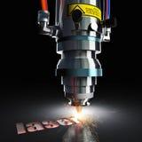 Cortadora del laser libre illustration