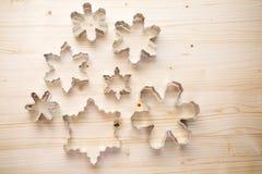 Cortadores da cookie Imagem de Stock