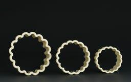 Cortadores de la galleta Imagen de archivo libre de regalías