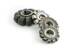 Cortadores de trituração metálicos Imagens de Stock