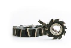 Cortadores de trituração metálicos Fotografia de Stock Royalty Free