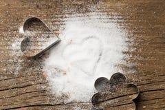 Cortadores del azúcar y de la galleta Imagen de archivo