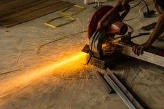 Cortadores e técnicos de aço em Ásia Imagens de Stock