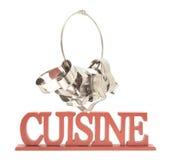 Cortadores y cocina de Haning Foto de archivo libre de regalías