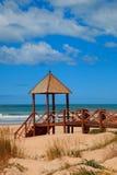 Cortadura's Beach - Cadiz Stock Photo
