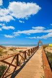 Cortadura's Beach - Cadiz Stock Photography