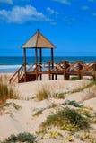 Cortadura's Beach - Cadiz Royalty Free Stock Photography