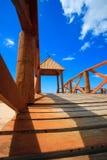 Cortadura's Beach - Cadiz Stock Image