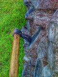 Cortando as madeiras Imagens de Stock Royalty Free