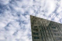 Cortando o céu Fotografia de Stock