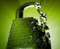 Cortando a segurança do desvio Imagens de Stock