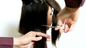Cortar el pelo largo metrajes