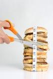 Cortar las pulgadas Foto de archivo libre de regalías