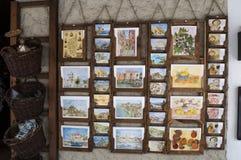 Corte,城堡,纪念品,可西嘉岛, Corse,盖帽Corse,上部Corse,法国,欧洲 免版税库存图片