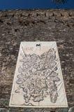 Corte, цитадель, садилось на насест, Корсика, Corse, крышка Corse, верхнее Corse, Франция, Европа Стоковое Фото
