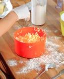 Corte acima a manteiga Foto de Stock