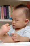 Corte al bebé Fotografía de archivo