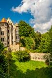 Corte Castello-interna del Lichtenstein Fotografia Stock