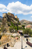 Corte citadel in Corsica Royalty Free Stock Image