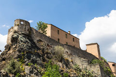 Corte citadel in Corsica Royalty Free Stock Images