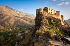 Corte Citadel at sunrise Stock Photo