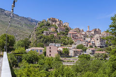 Corte Corsica Royalty Free Stock Photos