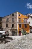Corte, cytadela, umieszczał, Corsica, Corse, nakrętka Corse, Górny Corse, Francja, Europa Zdjęcie Stock