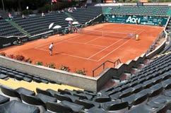 Corte da central do tênis de Genoa Imagem de Stock