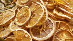 Corte da laranja na fatia secada fotos de stock royalty free
