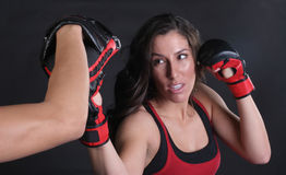Corte da parte superior de MMA imagens de stock royalty free