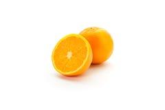 Corte das laranjas Foto de Stock