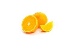 Corte das laranjas Fotos de Stock