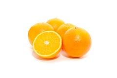 Corte das laranjas Imagem de Stock