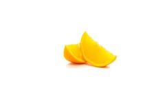 Corte das laranjas Fotos de Stock Royalty Free