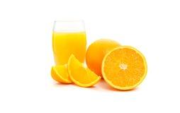 Corte das laranjas Imagem de Stock Royalty Free