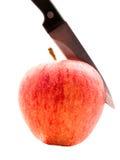 Corte de Apple Fotografía de archivo